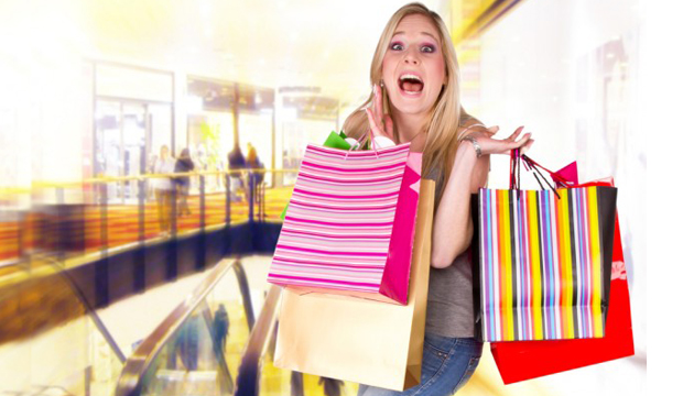 Shoppers Use 'Retail Therapy' to Ward Off Stress